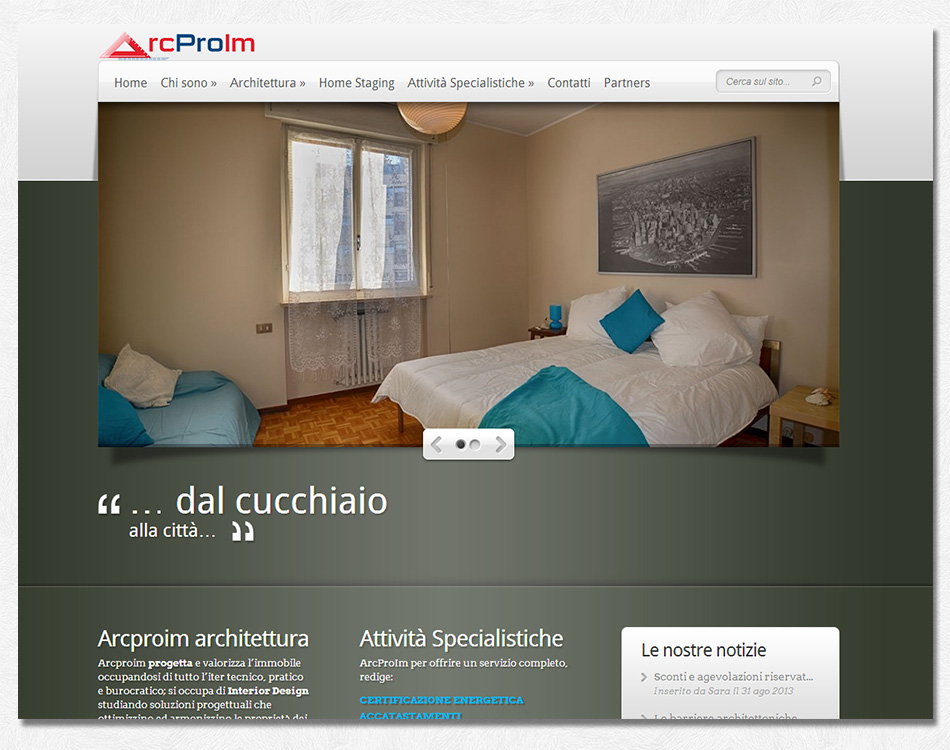 ArcProIm si occupa di architettura, interior design e home staging.